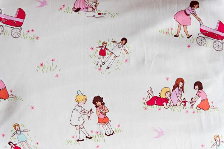 dziewczynki na lace
